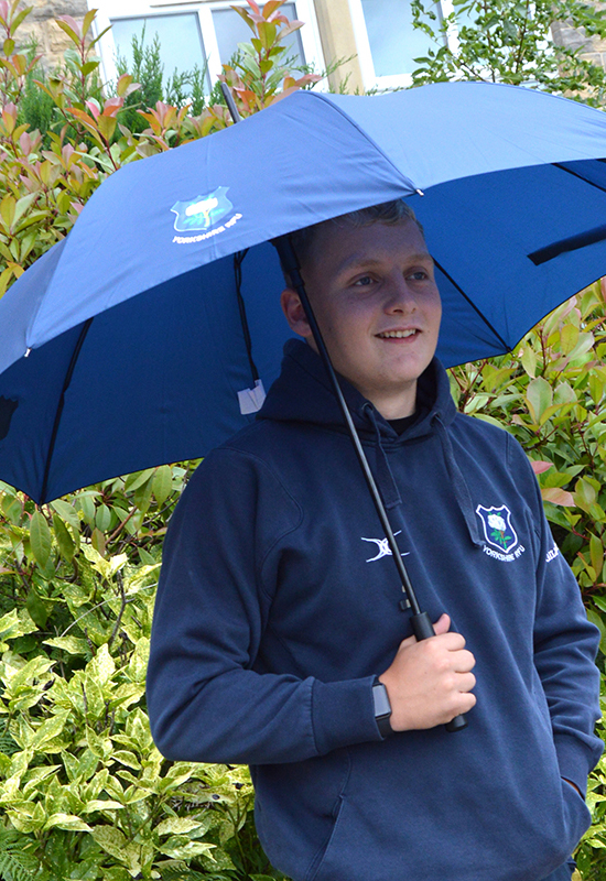 Yorkshire RFU Navy Golf Umbrella
